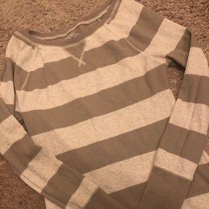 Thermal Brown & Tan Shirt